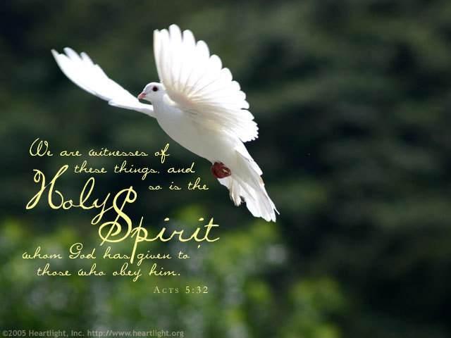 1 holy spirit