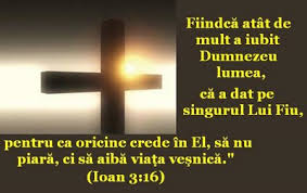 L-a dat pe Isus pentu ca Oricine crede