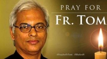 Apelul pentru rugaciune s-a terminat. Parintele Catolic indian, Thomas Uzhunnalil, 56 ani, a fost crucificat de Isis in Vinerea mare Foto Daily Mail