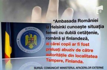 Ambasada Romaniei Helsinki Camelia Smicala cu copiii Finlanda