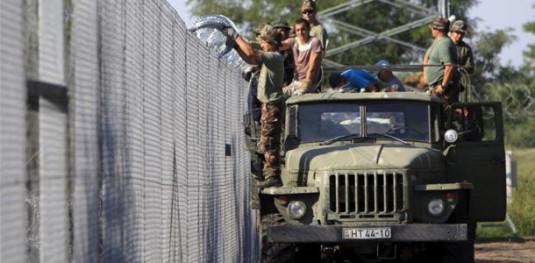 ungaria gard imigranti FOTO Aktual24