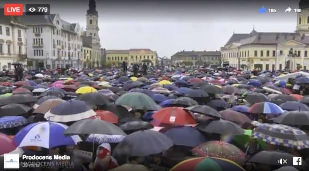 ActualMM – MARE MITING LA ORADEA – Românii ies în stradă pentru modificareaConstituției