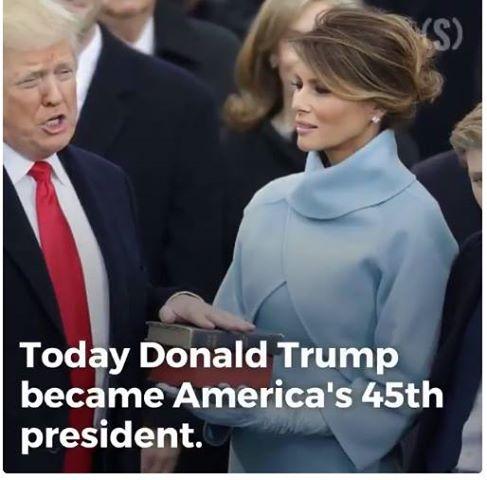 Donald Trump – primul sau discurs ca presedinte – a citat din PSALMI (TEXT,VIDEO)