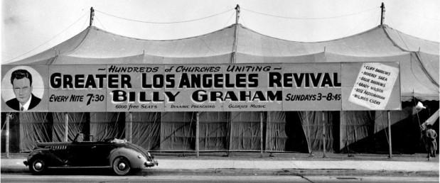 """Înmormântarea lui Billy Graham va avea loc într-o """"catedrală de pânză"""" în 2 martie2018"""